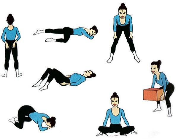 Комплекс упражнений Кегеля для беременных