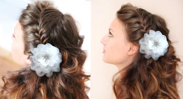Прически для девочек на длинные волосы простые, красивые, с бантами, резинками