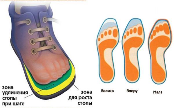 Размер обуви для детей по возрасту. Таблица в сантиметрах Россия, США. Размерная сетка популярных производителей