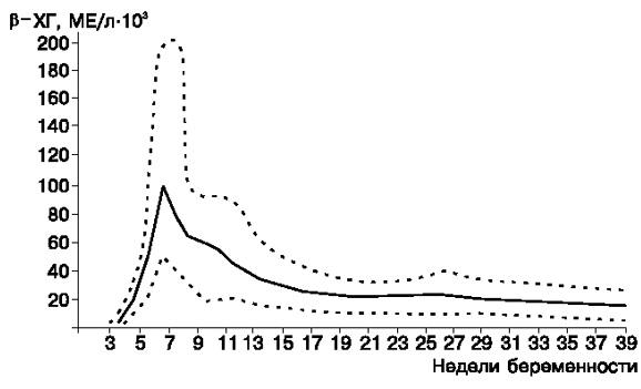 Показатели хгч при беременности по неделям