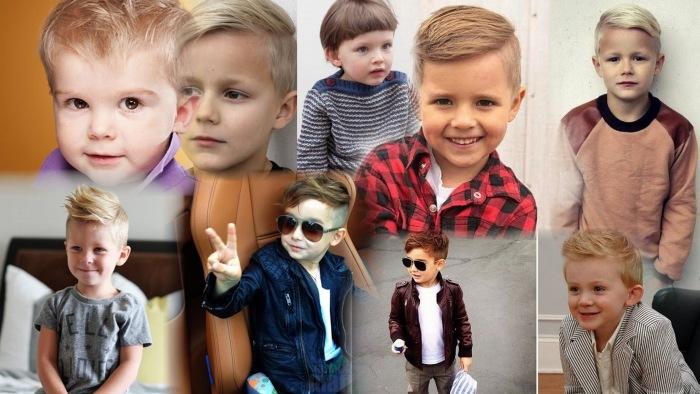 Стрижки для мальчиков, модные 2019. Фото: детские, подростковые, стильные, модельные, короткие, креативные на 7, 10, 12, 14 лет
