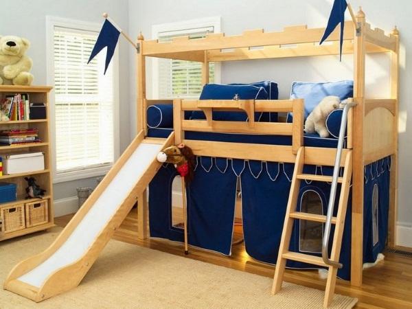 Двухъярусная кровать для детей: с диваном, трансформер, с выдвижными ящиками, металлическая. Какая лучше