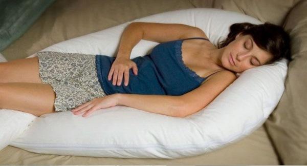 Подушка для беременных. Фото, отзывы какая лучше: банан, подкова, u образная, ортопедическая. Theraline, Фэст, Релакс сон, Red Castle. Как сшить самой, выкройка