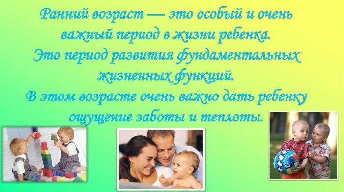 Возрастные особенности детей раннего дошкольного, школьного возраста, психологические, физиологические, индивидуальные, восприятие пространства