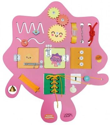 Бизиборды. Развивающие доски для детей. Как сделать домик: материалы и пошаговая инструкция