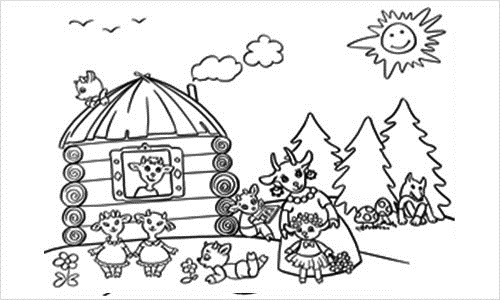 Домашние животные. Картинки для детей дошкольного возраста с названиями. Раскраски
