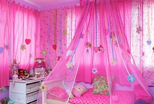 Шторы в детскую комнату для девочки 6-15 лет. Рулонные, короткие, от потолка, до подоконника, тюль. Красивые своими руками