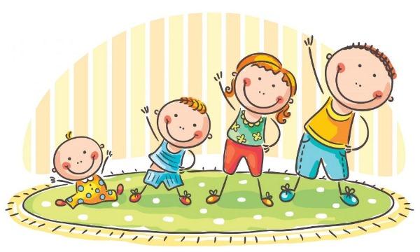 Зарядка для детей под музыку. Утренняя, танцевальная, песни на английском со словами. Видео