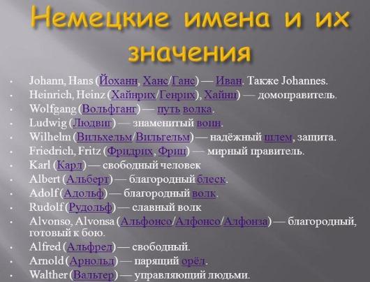Красивые современные мужские имена для ребенка. Список и значение