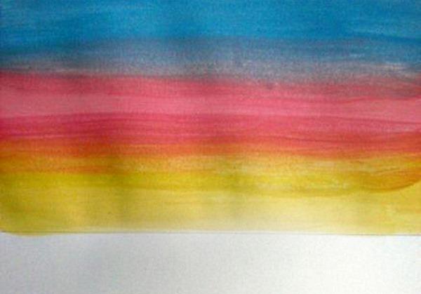 """Рисунок """"Черное море и его берега"""". Мастер класс для детей"""