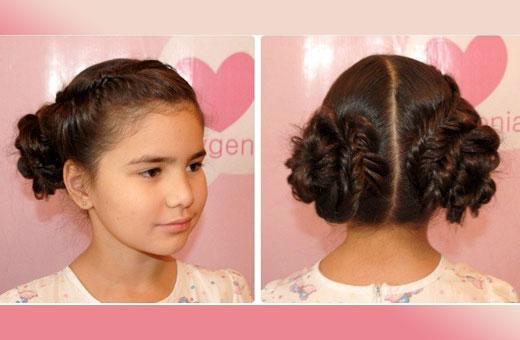 Как научиться плести косы ребенку. Инструкция пошагово для начинающих