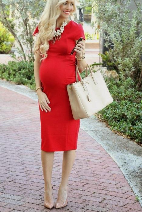 Праздничные платья для беременных: вечерние, свадебные. Фасоны, цвета