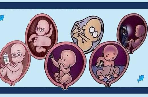 Ребенок икает в животе при беременности. Что значит, почему, какие ощущения