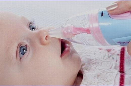 Чем промывать нос ребенку новорожденному