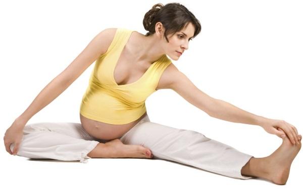 Гимнастика для спины при беременности