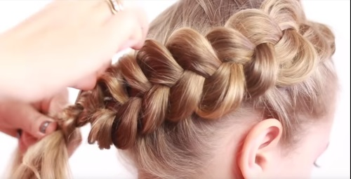 Как заплести корзинку из волос ребенку пошагово с фото. Инструкции для начинающих