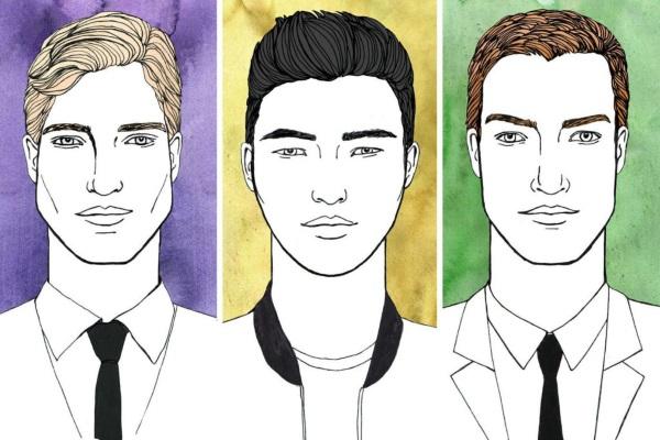 Молодёжные прически для парней на средние волосы 14-16-18 лет. Фото и названия