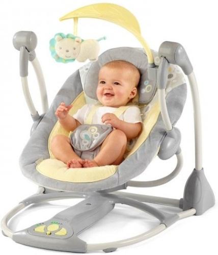 Лучшие качельки для новорожденных. Какую купить, фото, цены, отзывы