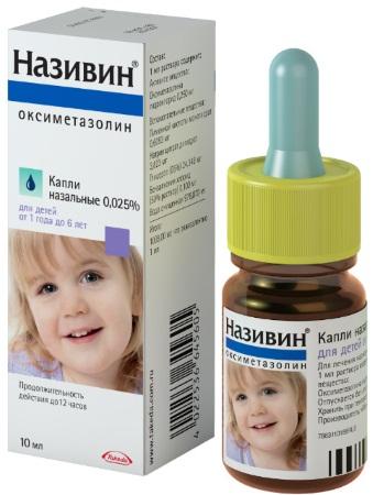 Капли в нос противоаллергические и противовоспалительные для детей. Список