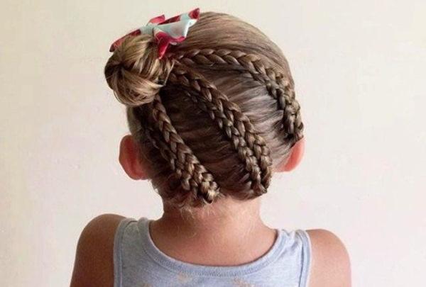 Косы на средние волосы быстро и красиво. Как сделать прическу своими руками с фото