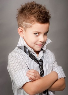 Стрижка Дракончик для мальчиков. Фото, уроки машинкой для начинающих