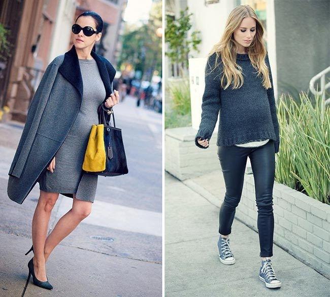 Мода для беременных 2019-2020: осень-зима-весна-лето