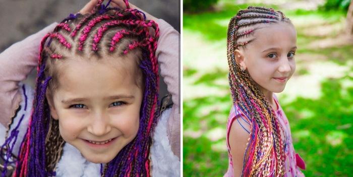 Прически из косичек на длинные волосы для девочек. Фото, инструкции пошагово