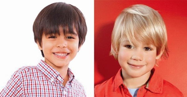 Детские стрижки для мальчиков. Фото модных, модельных, коротких, креативных