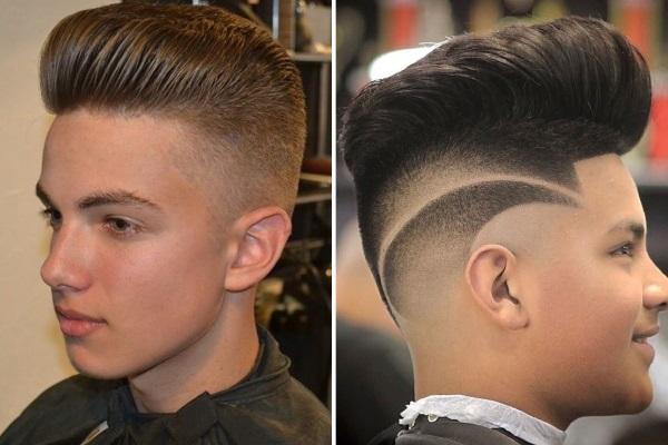 Крутые прически для парней 10-12-14-16 лет с длинными, короткими волосами. Фото