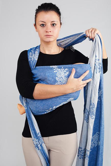 Как завязать слинг шарф для новорожденных колыбелька, горизонтальное положение, вертикально, кольцом. Схемы