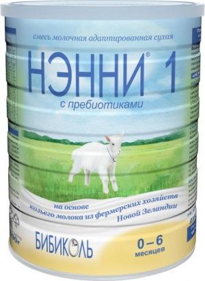 Нэнни смесь для новорожденных на козьем молоке 1-2-3 с пребиотиками, Классика, Гипоаллергенная. Состав, цена