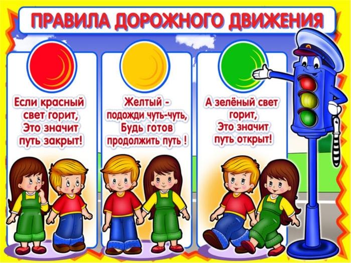 ПДД для детей школьного возраста. Презентация в картинках, игра, тесты, викторины