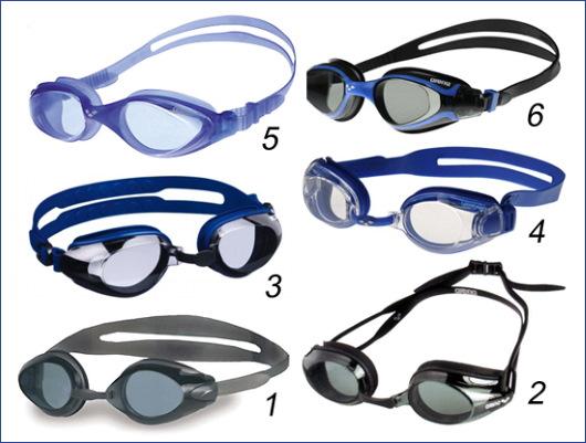 Очки для плавания для детей 1-2-3 года. Фото, какие лучше