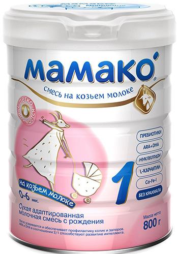 Смеси на козьем молоке. Список, рейтинг лучших без пальмового масла, лактозы, отзывы